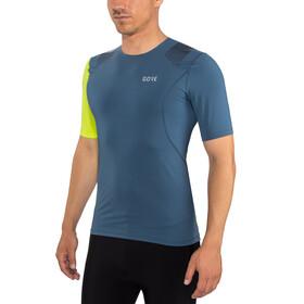GORE WEAR R7 Shirt Herre deep water blue/citrus green